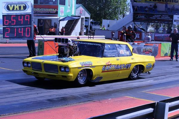 Trevor Smith sets two new PB's at Meremere Dragway