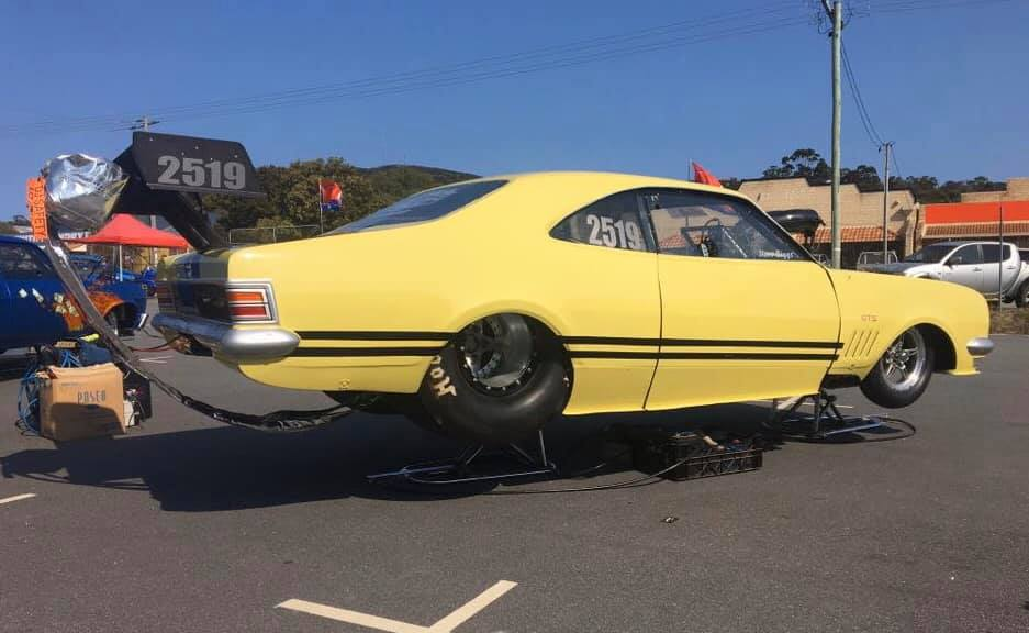The Monaro has previously been raced by a couple of drivers in Perth