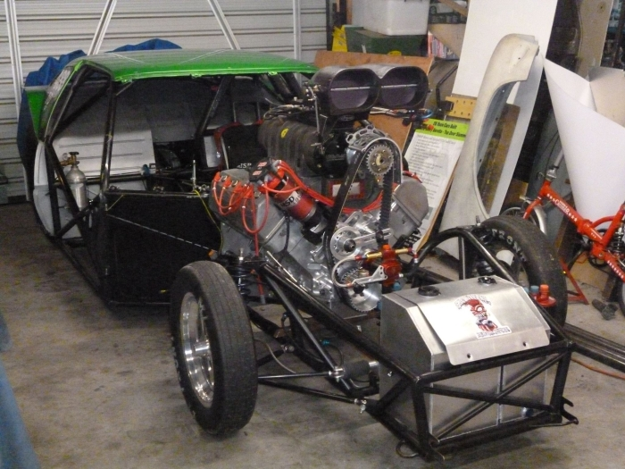DB Race Cars switching to Blown Hemi for 2014/15 Season